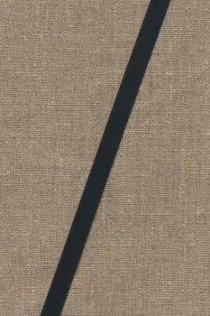 Satinbånd sort 10 mm.