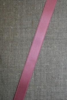 Satinbånd mørk gl. rosa 10 mm.