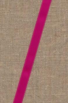 Rest Satinbånd mørk pink 10 mm. 40+62 cm.