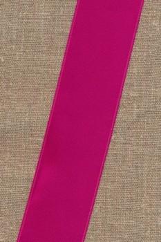 Satinbånd mørk pink 40 mm