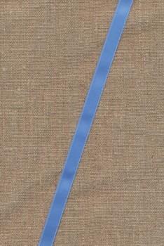 Rest Satinbånd lyseblå 10 mm., 50 cm.