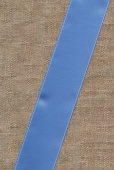 Satinbånd lyseblå 40 mm.