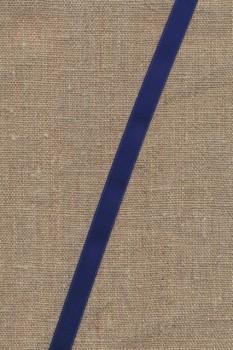 Satinbånd mørkeblå 10 mm.