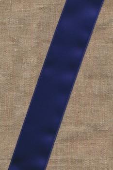 Satinbånd mørkeblå 40 mm.