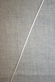 Satinsnor 2,2 mm. off-white