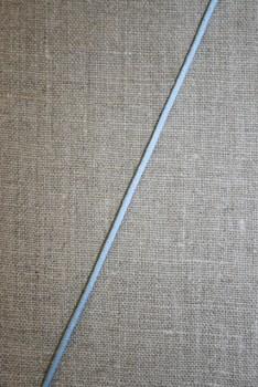 Satinsnor 2,2 mm. lyseblå