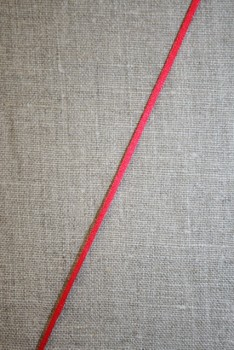 Satinsnor 2,2 mm. koral-rød
