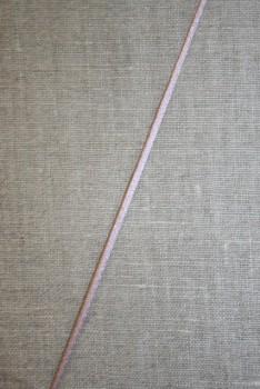 Satinsnor 2,2 mm. gammel rosa