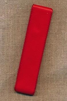 Silkebånd rød 25 mm. x 3 meter