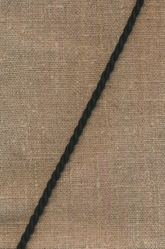 Snoet silke-snor 3,5 mm. i sort