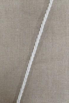 Snoet silke-snor, 8 mm. hvid