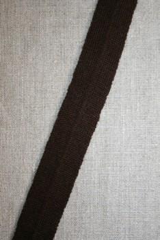 Kantbånd/Foldebånd mørkebrun