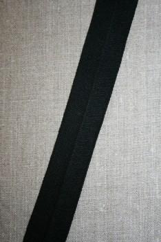 Kantbånd/Foldebånd i sort