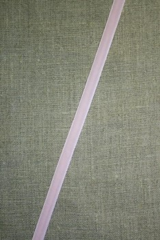 Velourbånd baby lyserød 9 mm.
