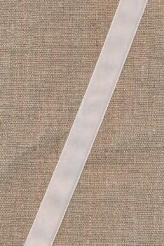 Velourbånd hvid 16 mm.