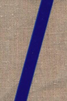 Velourbånd 16 mm. i koboltblå