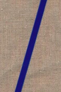 Velourbånd 9 mm. i koboltblå