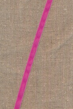 Velourbånd 9 mm. i pink