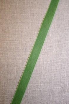 Velourbånd 16 mm. mørk lime