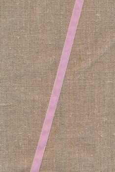 Velourbånd 9 mm. lyserød