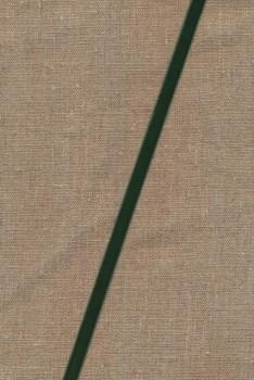 Velourbånd flaskegrøn 9 mm.