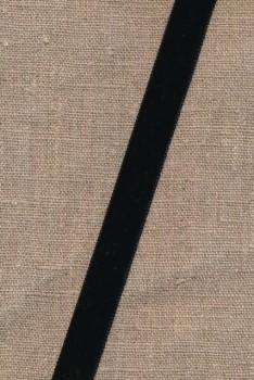 Velourbånd 16 mm. i sort