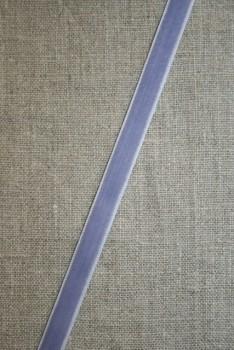 Velourbånd lyselilla 9 mm.