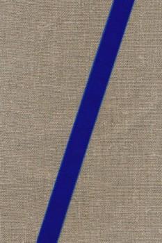 Velourbånd 9+16 mm. koboltblå