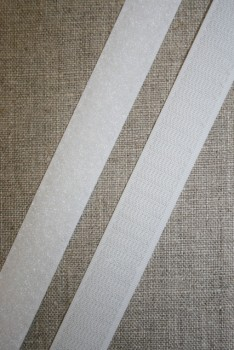 Rest 20 mm. velcro hvid, Loop 58 cm.