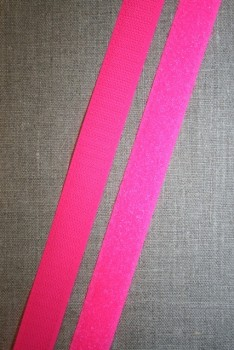 20 mm. velcro neon pink, Loop