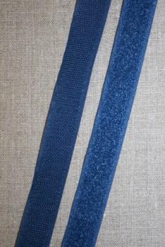 Rest 20 mm. velcro denim blå, loop 45 cm.