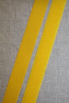 Rest 25 mm. velcro gul 50 cm. hook+loop