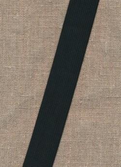 Pose m/2 meter 25 mm. sort elastik