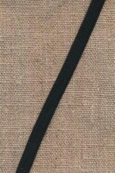 Pose med 4 meter 7 mm. sort elastik