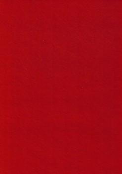 Hobby filt rød