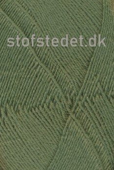 Aloe strømpegarn i støvet grøn fv.5635