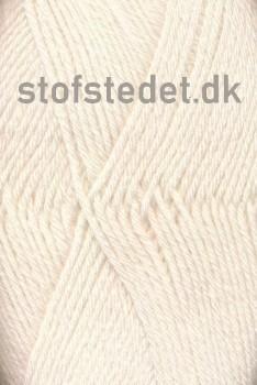 Basic strømpegarn i offwhite | Hjertegarn