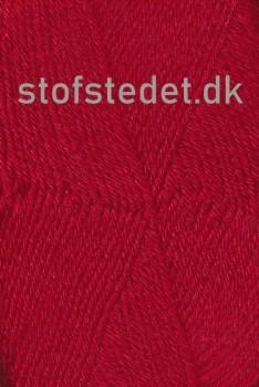 Basic strømpegarn i rød | Hjertegarn