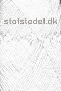 Bommix Bamboo i Hvid | Hjertegarn