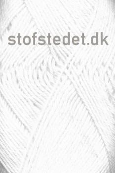 Blend -Tendens Bomuld/akryl garn i Hvid