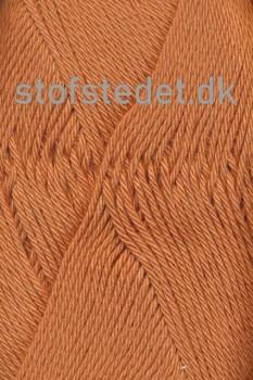 Blend /Tendens i Bomuld/acryl garn i Støvet orange