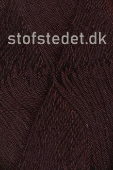 Blend -Tendens Bomuld/acryl garn i Mørke brun