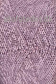 Blend -Tendens Bomuld/acryl garn i Lys lyng