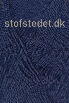 Blend -Tendens Bomuld/acryl garn Støvet mørkeblå