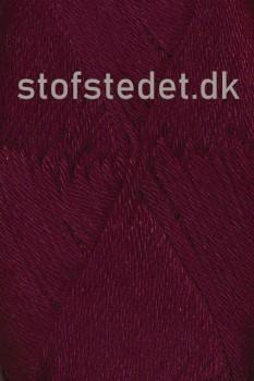 Blend -Tendens Bomuld/acryl garn i Bordeaux