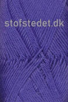Blend -Tendens Bomuld/acryl garn i Blå/lilla