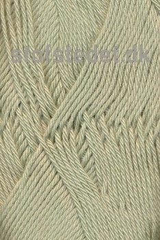 Blend -Tendens Bomuld/acryl garn i Støvet lys grøn