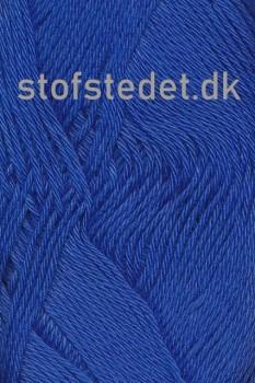 Blend -Tendens Bomuld/acryl garn i Kobolt blå