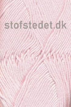 Blend Bamboo-/bomuldsgarn i Baby lyserød | Hjertegarn