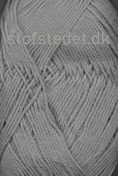 Cotton 8 Hjertegarn i Lysegrå